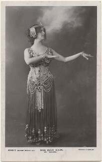 Maud Allan as 'Salome', by Foulsham & Banfield, published by  Rotary Photographic Co Ltd - NPG x198333