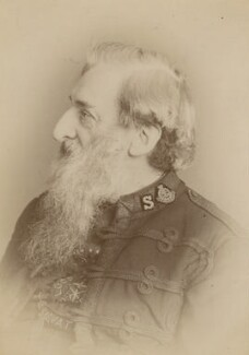 William Booth, by Unknown photographer - NPG x196296