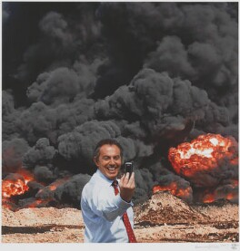 Tony Blair ('Photo Op'), by kennardphillipps (Peter Kennard and Cat Phillipps) - NPG D48897