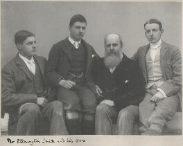 Harry Launcelot Etherington-Smith; Thomas Basil Etherington-Smith; John Henry Etherington-Smith; Raymond Broadley Etherington-Smith, by Unknown photographer - NPG x198343