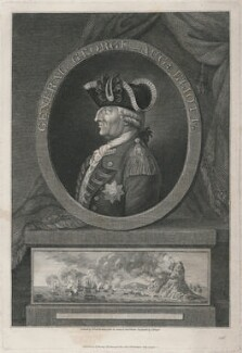 George Augustus Eliott, 1st Baron Heathfield, by John Beugo, published by  H. Murray, and published by  Thomas Holloway, after  George Frederic Koehler - NPG D48899