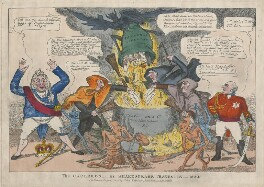 The Cauldron or Shakespeare Travestie 1820, published by John Fairburn - NPG D48672