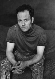 Frank Auerbach, by Harry Diamond - NPG x210037
