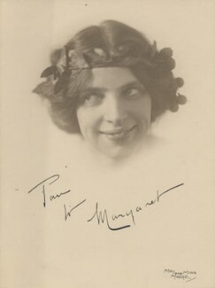 Margaret Morris, by May and Mina Moore - NPG x200818