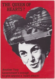 Edwina Currie ('The Queen of Hearts?'), published by South Atlantic Souvenirs (SAS) - NPG D48900