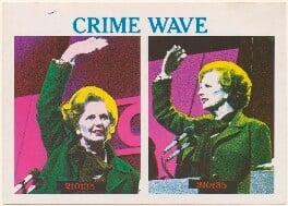 Margaret Thatcher ('Crime Wave'), published by South Atlantic Souvenirs (SAS) - NPG D48906