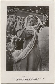 Ivy Close and The Eight Horse Power Rover Car, published by Charles William Faulkner & Co ('C.W.F. & Co') - NPG x200853