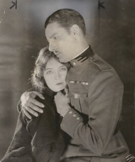Lillian Gish and Ronald Colman in the 'The White Sister', by James Abbe - NPG x200855