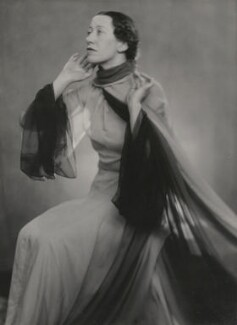 Flora Robson, by Yvonne Gregory - NPG x199958