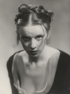 Jessica Tandy as Ophelia in 'Hamlet', by Yvonne Gregory - NPG x199959