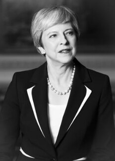 Theresa May, by Zoë Law - NPG x200839