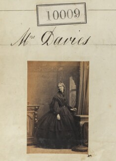 Mrs Davies, by Camille Silvy - NPG Ax59723
