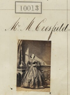 Mrs Morland Crosfield, by Camille Silvy - NPG Ax59727