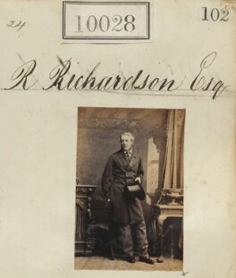 Robert Richardson, by Camille Silvy - NPG Ax59742