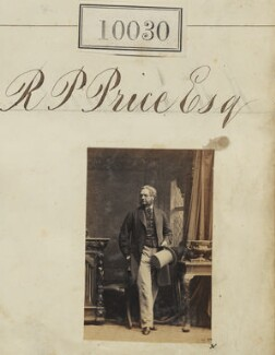 Richard P. Price, by Camille Silvy - NPG Ax59744