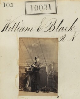 William E. Black R N, by Camille Silvy - NPG Ax59745