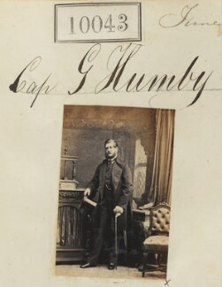 Captain George Humby, by Camille Silvy - NPG Ax59757