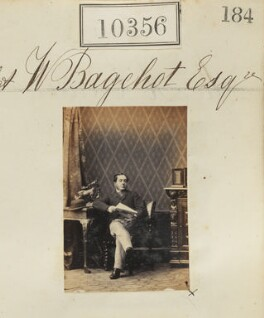 Watson Bagehot, by Camille Silvy - NPG Ax60070