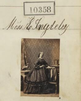 Miss E. Ingleby, by Camille Silvy - NPG Ax60072