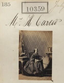 Mrs H. Carew, by Camille Silvy - NPG Ax60073
