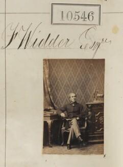Mr F. Widder, by Camille Silvy - NPG Ax60260