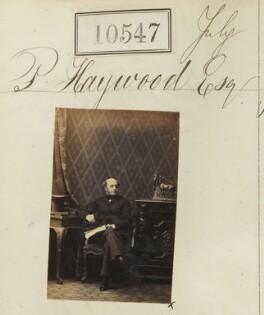 Mr P. Haywood, by Camille Silvy - NPG Ax60261