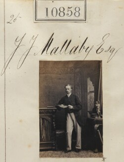 Mr J.J. Mallaby, by Camille Silvy - NPG Ax60563