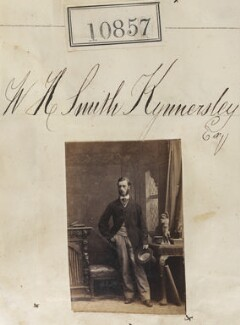 Mr W.H. Smith Kynnersley, by Camille Silvy - NPG Ax60564