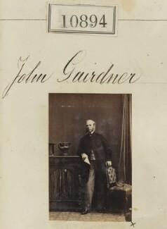 John Gardner, by Camille Silvy - NPG Ax60600