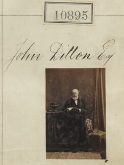 John Dillon, by Camille Silvy - NPG Ax60601