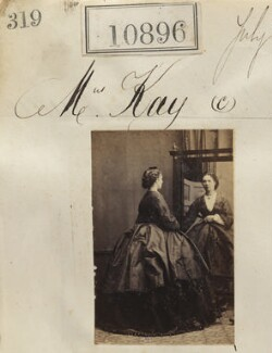 Mrs Kay, by Camille Silvy - NPG Ax60602