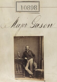 Major Gason, by Camille Silvy - NPG Ax60604
