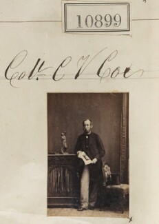 Colonel C.V. Cox, by Camille Silvy - NPG Ax60605