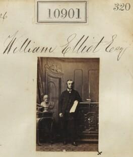 William Elliott, by Camille Silvy - NPG Ax60607