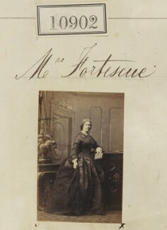 Mrs Fortescue, by Camille Silvy - NPG Ax60608