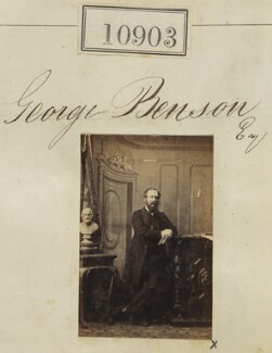 George Benson, by Camille Silvy - NPG Ax60609