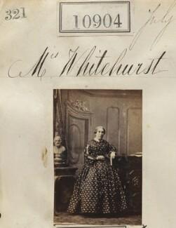 Mrs Whitehurst, by Camille Silvy - NPG Ax60610