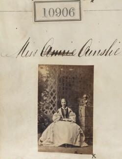 Miss Ainslie, by Camille Silvy - NPG Ax60612