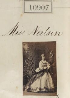 Miss Neilson, by Camille Silvy - NPG Ax60613