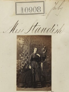 Miss Standish, by Camille Silvy - NPG Ax60614