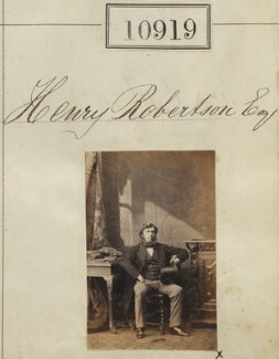 Henry Robertson, by Camille Silvy - NPG Ax60625