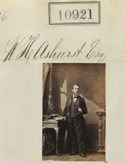 William Henry Ashurst, by Camille Silvy - NPG Ax60627