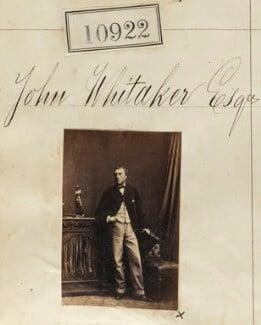John Whitaker, by Camille Silvy - NPG Ax60628