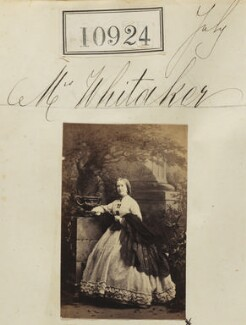 Mrs Whitaker, by Camille Silvy - NPG Ax60630