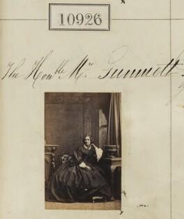 Hon. Mrs Gummett, by Camille Silvy - NPG Ax60632