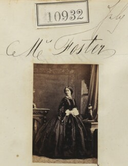 Mrs Foster, by Camille Silvy - NPG Ax60638