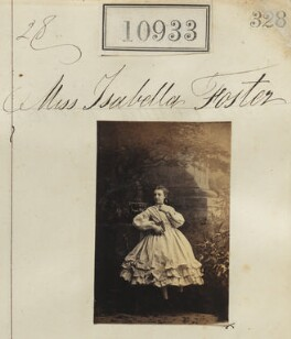 Miss Isabella Foster, by Camille Silvy - NPG Ax60639