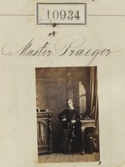 Master Praeger, by Camille Silvy - NPG Ax60640