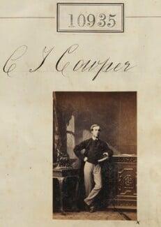 C.T. Cowper, by Camille Silvy - NPG Ax60641
