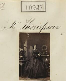 Mrs Thompson, by Camille Silvy - NPG Ax60643